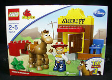 NEW - Toy Story JESSIE'S ROUND-UP - Lego DUPLO 5657 - Disney PIXAR - Ages 2-5