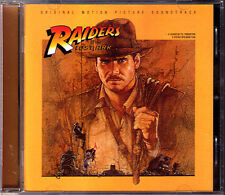 INDIANA JONES: RAIDERS OF THE LOST ARK John Williams OST CD Soundtrack Spielberg