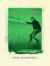 Paul McCartney Young Boy Learn to Play Pop PIANO Guitar PVG SHEET Music Book