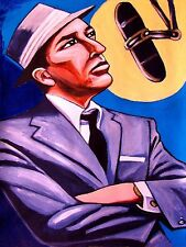FRANK SINATRA PRINT poster in the wee small hours cd christmas gift man cave