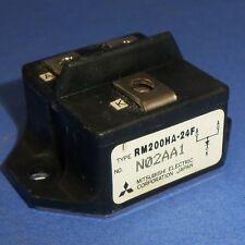 MITSUBISHI ELECTRIC POWER TRANSISTOR MODULE N02AA1 / RM200HA-24F