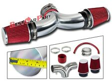 BCP RED 01-04 Corvette C5 5.7 V8 Dual Twin Air Intake System + Filter