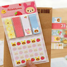 Cute Bear Sticky Notes Pads Post It Notes Memo Flags Removable Adhesive Paper CN