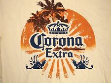 Corona Extra Island Beach Souvenir Beer College Party T Shirt L