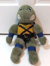 Teenage Mutant Ninja Turtles 1989 Plush Stuffed Animal Leornado Blue Doll TMNT