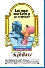 Abominable Dr Phibes Movie Poster 24x36