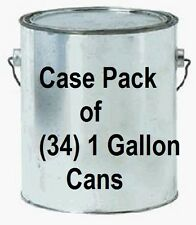 (34) ea True Value EMPGL 1 Gallon Empty Lined Paint Cans w/ Lids and Bales