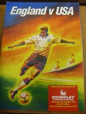 07/09/1994 England v United States Of America [At Wembley] (Stain on front). Ite