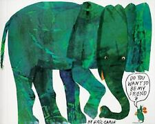 Trophy Picture Bks.: Do You Want to Be My Friend? by Eric Carle (1987, Paperback