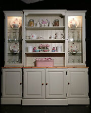 Large Ducal Pine Farmhouse Kitchen Welsh Dresser Shabby Chic in Farrow & Ball