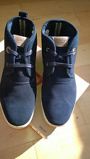 Levis Navy Men,s Suede Ankle boots UK 8 EU 42 - LAST TO CLEAR