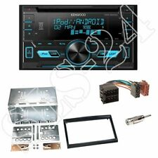 Kenwood DPX3000U CD/USB Radio + Fiat Scudo(270) 2-DIN Blende piano + ISO-Adapter