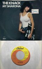 THE KNACK  My Sharona / Let Me Out  original 45 with PicSleeve