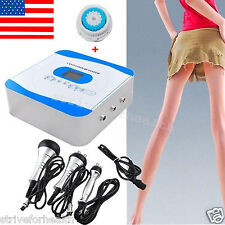 USA SHIP 3 IN1 40KHz Ultrasonic Cavitation RF Radio Frequency Slim Machine+ Gift