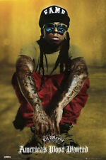 LIL WAYNE MUSIC (LAMINATED) POSTER (61x91cm) AMERICAS MOST WANTED NEW LICENSED