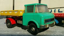 VINTAGE TRUCK TIN PLASTIC TOY FRICTION GERMANY 1970
