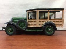 Vintage Hubley 1928-1931 Model A Ford Woody Wagon Huckster Truck Toy Model