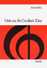Handel Ode On St. Cecilias Day Vocal Choral Learn Sing Play Piano Music Book