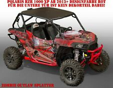Invision GRAPHIC KIT POLARIS General/RZR 900s/1000xp Zombie Outlaw splatter B