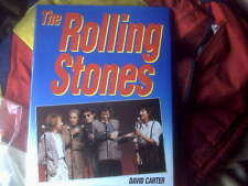 THE ROLLING STONES hardback book as new THE ROLLINGSTONES,byD.Carter,loadsofPIC