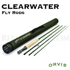 "Orvis Clearwater Fly Rod 5wt 8'6"" 4pc - FREE SHIPPING in U.S."