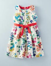*NEW* Mini Boden Vintage Dress & Underskirt - Floral design Age 4-5
