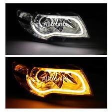 Flessibile DRL Barra Luminosa Luci diurne di marcia con indicatore FIAT BRAVA BRAVO