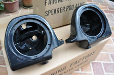 "6.5"" Speaker Pods For HD Harley 97-13 Touring Vented Fairing Lower Local Pickup"