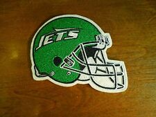 New York Jets Football Helmet NFL Embroidered Iron On Patch