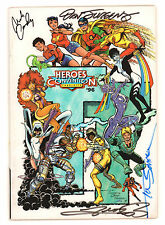HeroesCon Guide 1996 Signed Mike Wieringo, Alex Ross, Nick Cardy & George Perez