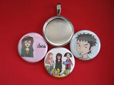 """Daria Handmade Interchangeable Magnetic  Pendant with Black 18"""" wtna Necklace"""