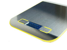 11lb x 0.05 oz Slim Digital Kitchen Scale Stainless Steel 5Kg x 1g Food / Postal