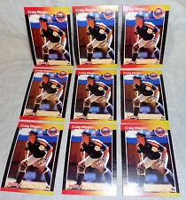 CRAIG BIGGIO --1989 DONRUSS-- ((( 3 ))) ROOKIE CARDS--#561--NM/MINT--L@@K