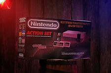 nintendo entertainment system action set box only with Extras