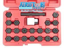 22pc conjunto de clave bmw rueda única de bloqueo antirrobo llaves Master