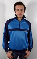 VINTAGE MENS ORIGINAL FITTED 70s 80s ADIDAS TRACKSUIT TOP JACKET sports M