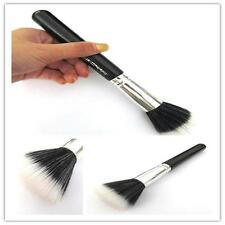 New Women Duo Synthetic Fiber Flat Top Large Powder Cosmetic Makeup Brush K2