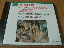 Claudio Scimone - Vivaldi - The Four Seasons - CD Erato NEUF SEALED