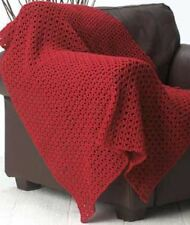 Crochet Pattern For Stunning Blanket / Throw - Any Colour