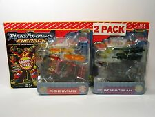 Hasbro Transformers Energon Rodimus Starscream 2 Pack Bonus