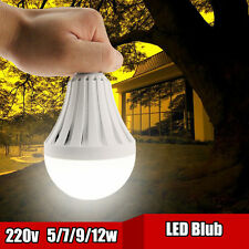 E27 LED Rechargeable Intelligent Light Bulbs Energy Saving Emergency Lamps 220V