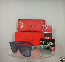 Brand New Authentic Ray Ban RB2140 6061/40 Blue Sunglasses RB 2140 Wayfarer 3N