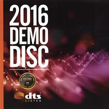 DTS HD-MA 7.1,X Demo  #20 Blu Ray Disc CES 2016 Demonstration Disk Authentic New