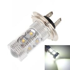 H7 50W 2500LM 6500K White Light 10 XT-E LED Car Foglight, Constant Current, DC12