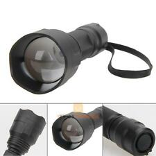 Zoomable 38mm Lens IR Infrared 850nm Night Vision LED Flashlight Torch Lamp