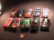 Lot of 10 hot wheels 81-90 see list for details