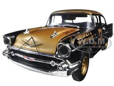 SIGNED 1957 CHEVROLET BEL AIR SMOKEY YUNICK'S STOCK CAR #3 1/18 ACME A1807001S