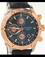 Valentino Homme Rose Gold & Steel Automatic Watch V40LCA3909-S009 Retail: $4,995