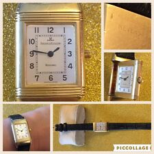 Jaeger lecoultre reverso lady oro con scatola WITH ORIGINAL BOX