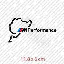Nurburgring BMW M Performance car sticker decal vinyl - Black